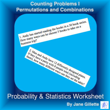 Counting Problems I - Permutations and Combinations