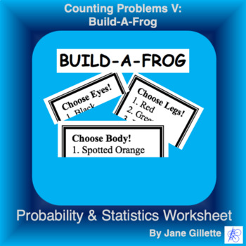 Counting Problems V: Build-A-Frog