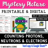Counting Protons, Neutrons and Electrons: Science Mystery Picture