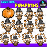 Counting - Pumpkin Juggling Clip Art Bundle  {Educlips Clipart}