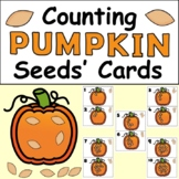 Counting Pumpkin Seeds' Cards