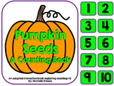 Counting Pumpkin Seeds a Halloween Adapted Interactive Book {Pre K, Autism}