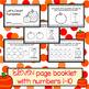 Fall Counting Pumpkins - Emergent Reader  Math Booklet Kindergarten Book
