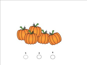 Counting Pumpkins  For SMART Board