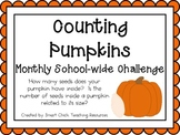 Counting Pumpkins ~ Monthly School-wide Science Challenge ~ STEM