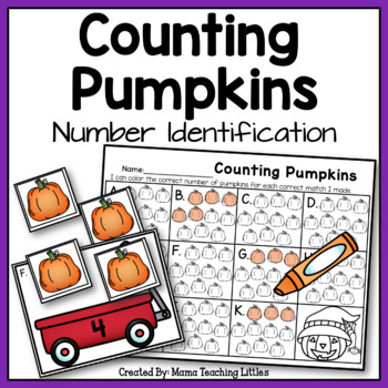 Counting Pumpkins - Number Identification