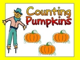 Counting Pumpkins Shared Reading - Kindergarten or Preschool- Fall
