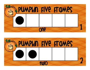 Counting Pumpkins in Five Frame