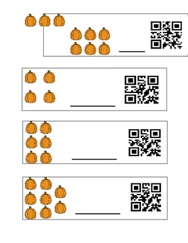 Counting Pumpkins with QR Codes