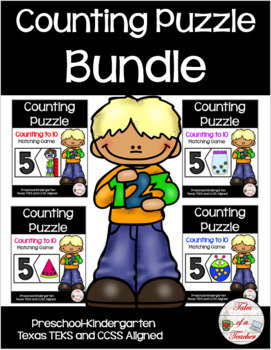 Counting Puzzle Bundle