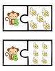 Counting Puzzles 1-10 Monkey Business