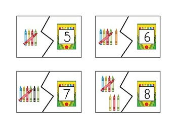 Counting Puzzles 1-20