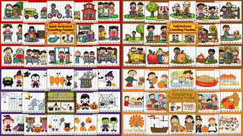 Counting Puzzles MEGA Bundle