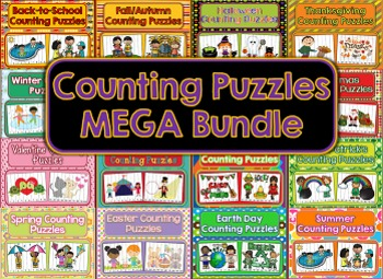 Counting Puzzles MEGA Bundle