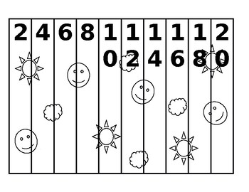 Counting Puzzles - Math Center