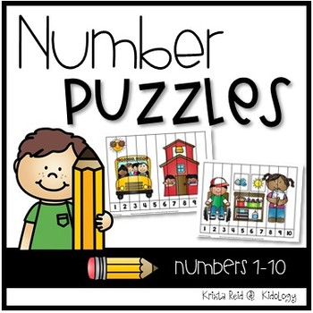 Numbers 1-10 Activities and Centers