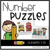 Back To School Skip Counting Puzzles