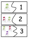 Counting Puzzles: Seasonal, Self-Correcting Math