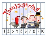 Counting Puzzles Thanksgiving