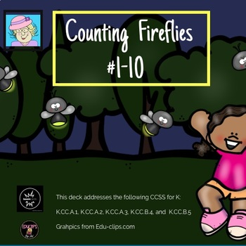 Counting Quantities 1-10 Boom Cards FREEBIE