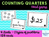 Counting Quarters Card Game