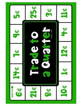 Counting Quarters Graphic Organizer