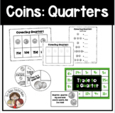 Counting Quarters Graphic Organizer