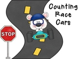 Counting Race Car Binder