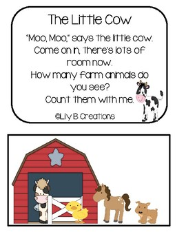 Counting Rhyme - Farm Animals