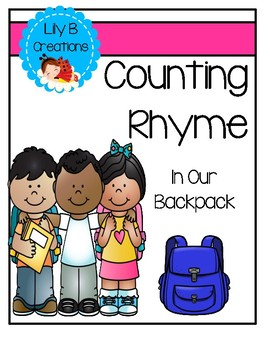 Counting Rhyme - In My Backpack
