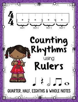 Counting Rhythms using Rulers: Quarter, Half, Eighth & Who