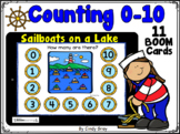 Counting Sailboats on a Lake ~ 0-10 ~ BOOM Cards ~ Distanc