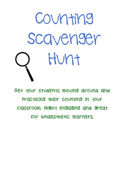 Counting Scavenger Hunt
