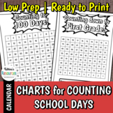 Counting School Days Charts