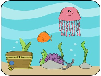 Interactive Counting Sea Life Notebook
