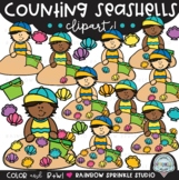 Counting Seashells Clipart