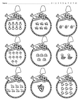Counting Sets - 1-10