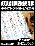 Counting Sets 1-10 Sheets