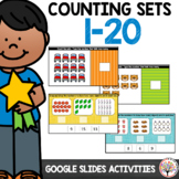 Counting Sets 1-20 | Activities for Google Slides