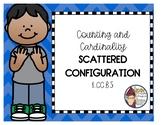 Counting Sets 10-30 with Scattered Configuration