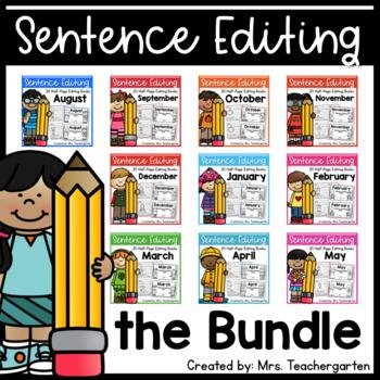 Sentence Editing Bundle
