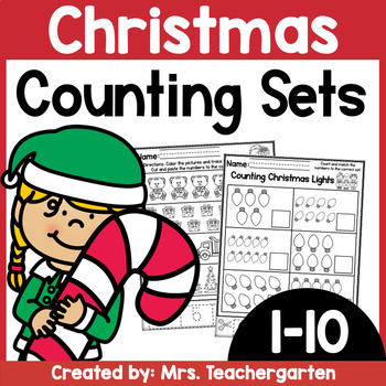 Counting Sets (Numbers 1-10) ~ Christmas