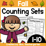 Counting Sets (Numbers 1-10) ~ Fall themed