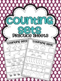 Counting Sets Practice Sheets {Numbers 2-10}