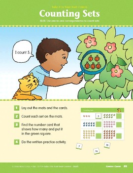 Counting Sets (Take It to Your Seat Centers Common Core Math)