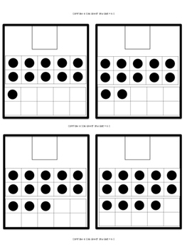 Counting Sets to 20: Task Cards