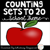 Counting Sets to 20: Back to School Theme