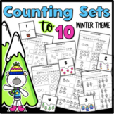 Counting Sets to 10 {Winter Theme}