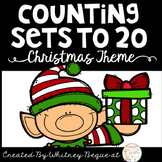 Counting Sets to 20 Christmas Theme