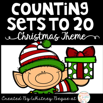 Counting Sets to 20 Christmas Theme